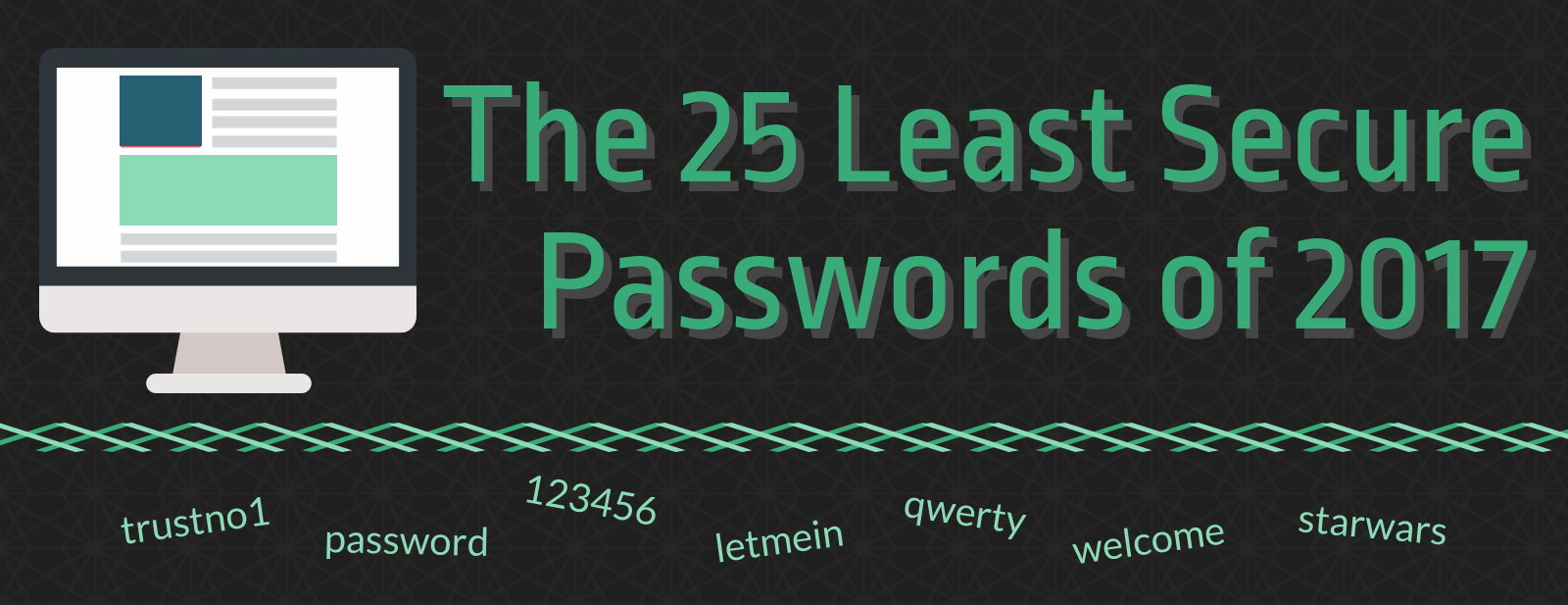 The Least Secure Passwords of 2017